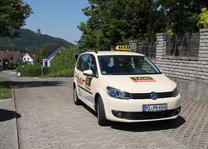 VW Touran Großraumtaxi